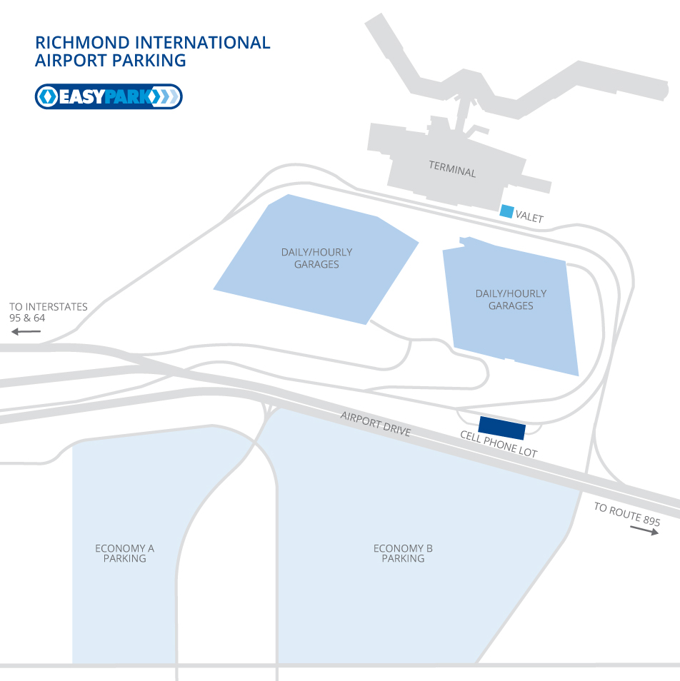 Airport Parking - Richmond International Airport